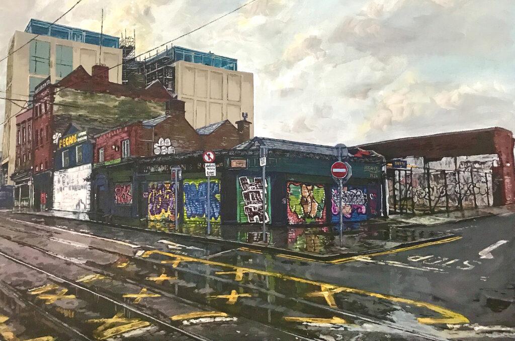 Painting of Dublin